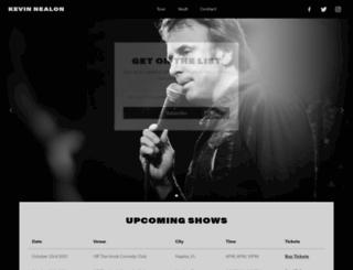 kevinnealon.com screenshot