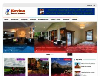 kevinstraveljournal.com screenshot