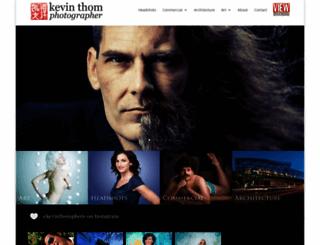 kevinthom.com screenshot