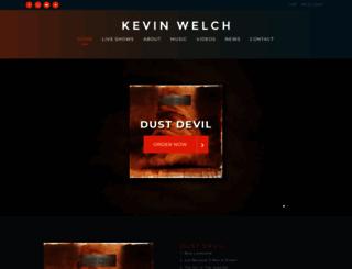 kevinwelch.com screenshot