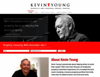 kevinyoung.com.au screenshot