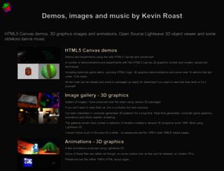 kevs3d.co.uk screenshot
