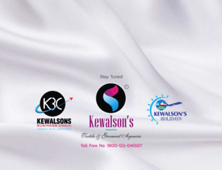 kewalsons.com screenshot