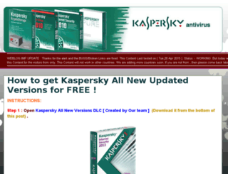 key-for-kaspersky.blogspot.com screenshot