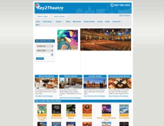 key2theatre.co.uk screenshot