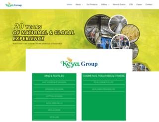 keyagroupbd.com screenshot