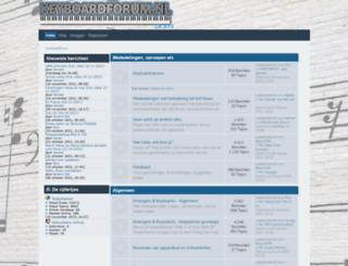 keyboardforum.nl screenshot