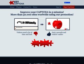 keycaptcha.com screenshot