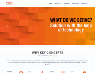 keyconcepts.co.in screenshot