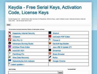 keydia.blogspot.com.br screenshot