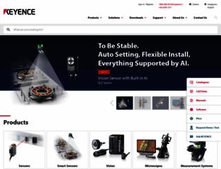 keyence.com.sg screenshot