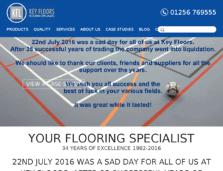 keyfloorsltd.co.uk screenshot