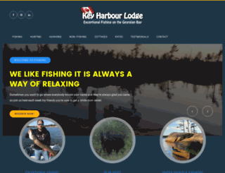 keyharbourlodge.com screenshot