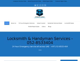 keylocksmithdubai.com screenshot