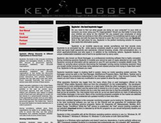 keylogger.net screenshot