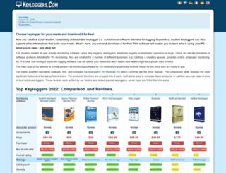 keyloggers.com screenshot