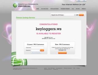keyloggers.ws screenshot