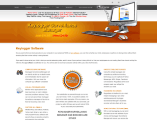 keyloggersurveillance.com screenshot