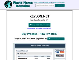 keylon.net screenshot