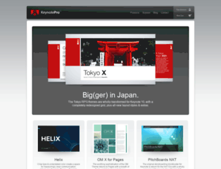 keynotepro.com screenshot