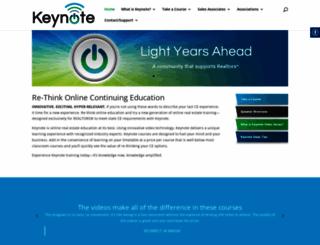 keynoteseries.com screenshot