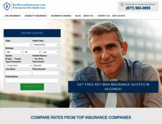 keypersoninsurance.com screenshot