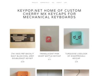 keypop.bigcartel.com screenshot