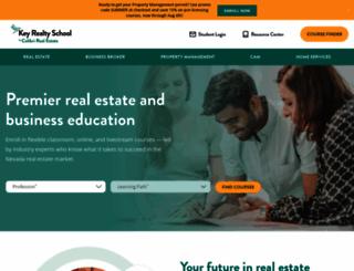 keyrealtyschool.com screenshot