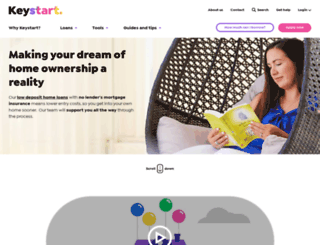 keystart.com.au screenshot