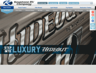 keystone-hideout.com screenshot