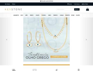 keystonejoias.com screenshot