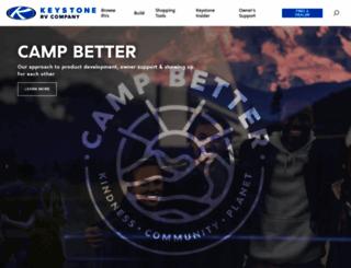 keystonerv.com screenshot