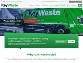keywaste.ie screenshot