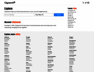 keywest.citysearch.com screenshot