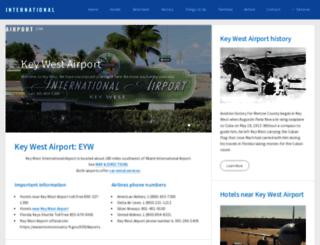 keywestinternationalairport.com screenshot