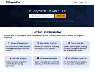 keywordeye.com screenshot