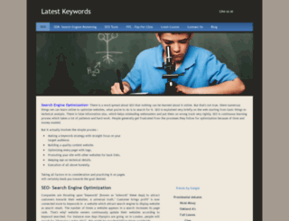keywordocean.weebly.com screenshot