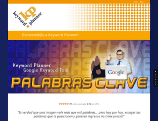 keywordplanner.es screenshot