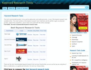 keywordresearchtools.net screenshot