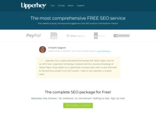 keywords.lipperhey.com screenshot