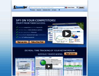 keywordspy.com screenshot