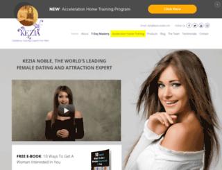 kezia-noble.com screenshot