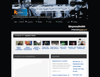 kezilabda.com screenshot