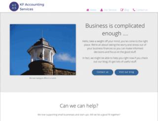 kfaccounting.co.uk screenshot