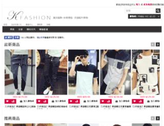 kfashion-hk.com screenshot