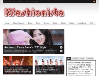 kfashionista.com screenshot