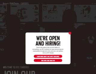 kfc-jobs.com screenshot