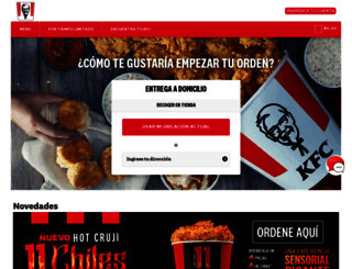 kfc.com.mx screenshot