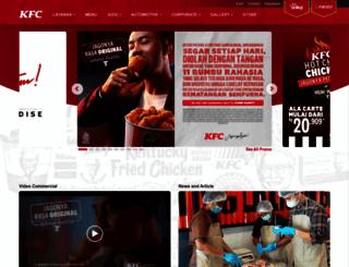 kfcku.com screenshot