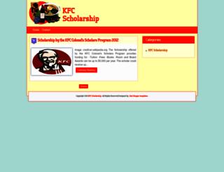 kfcscholarship.blogspot.com screenshot